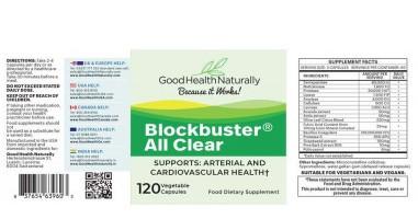 Blockbuster allclear ingredients