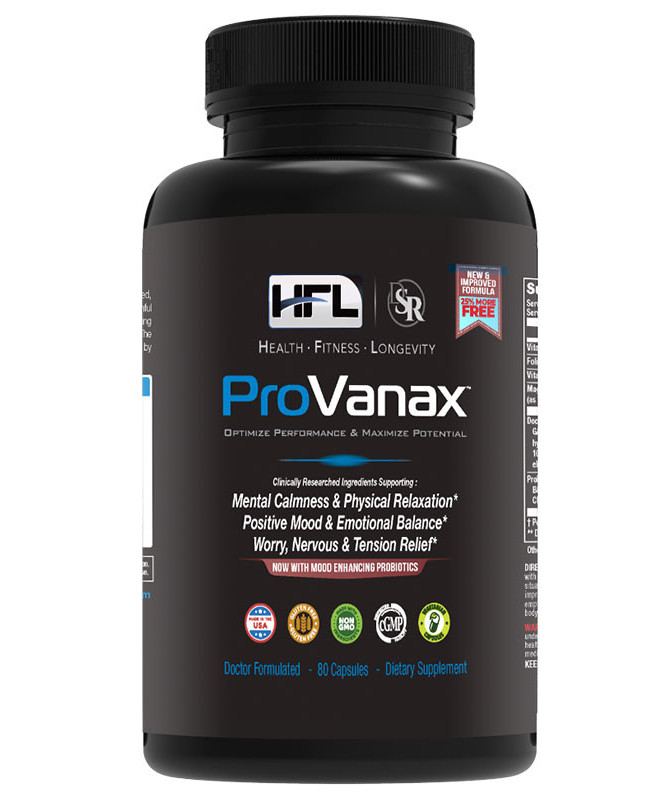 Provanax anxiety supplements for adults