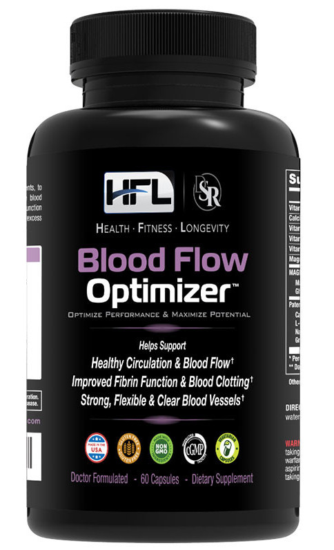 How to clear blood vessels blood flow Optimizer