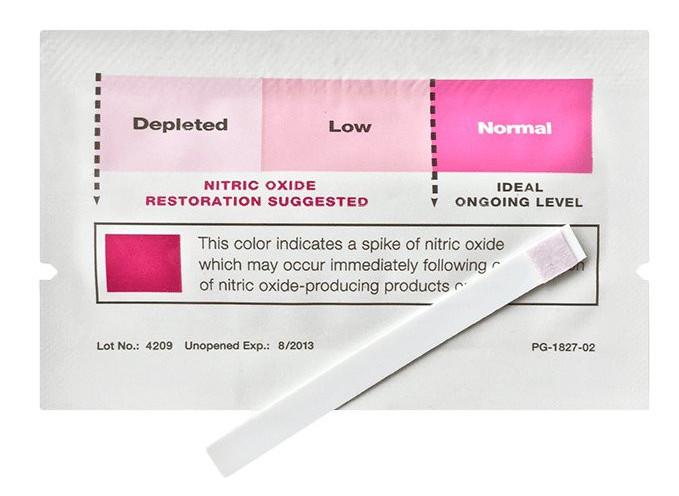 Depleted Nitric oxide levels
