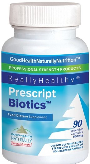 Probiotic gut health prescript biotics