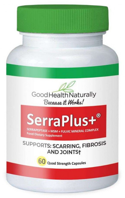Serraplus enzyme serrapeptase for blocked fallopian tubes