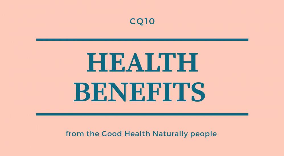 CQ10 health benefits