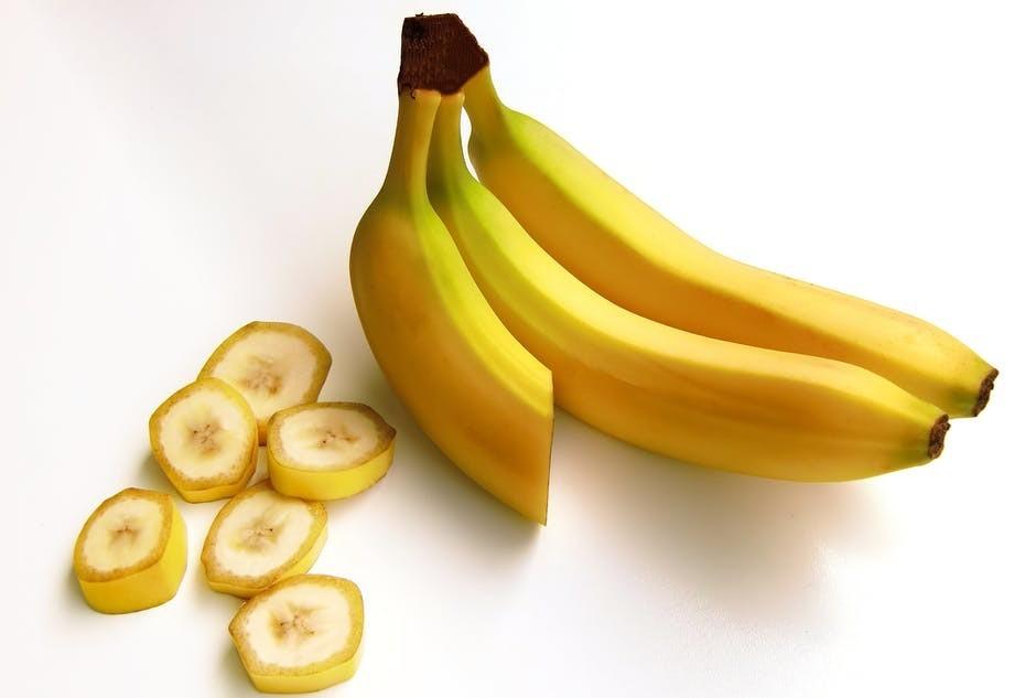 Bananas - Good source of Potassium & Magnesium