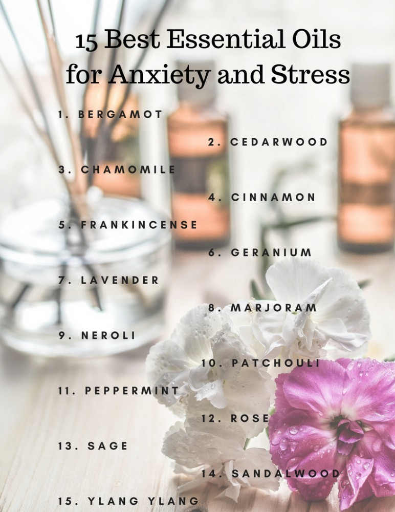 Best Essential Oils for Anxiety
