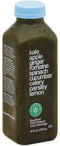 Best detox cleanses supercharge your life blueprint juice kale apple ginger 16 ounce malvernweather Choice Image
