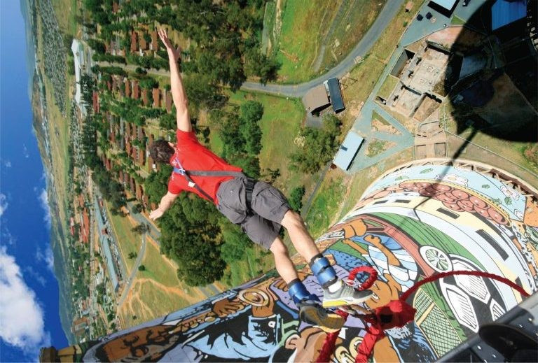 Bunjee Jumping at Orlando Towers