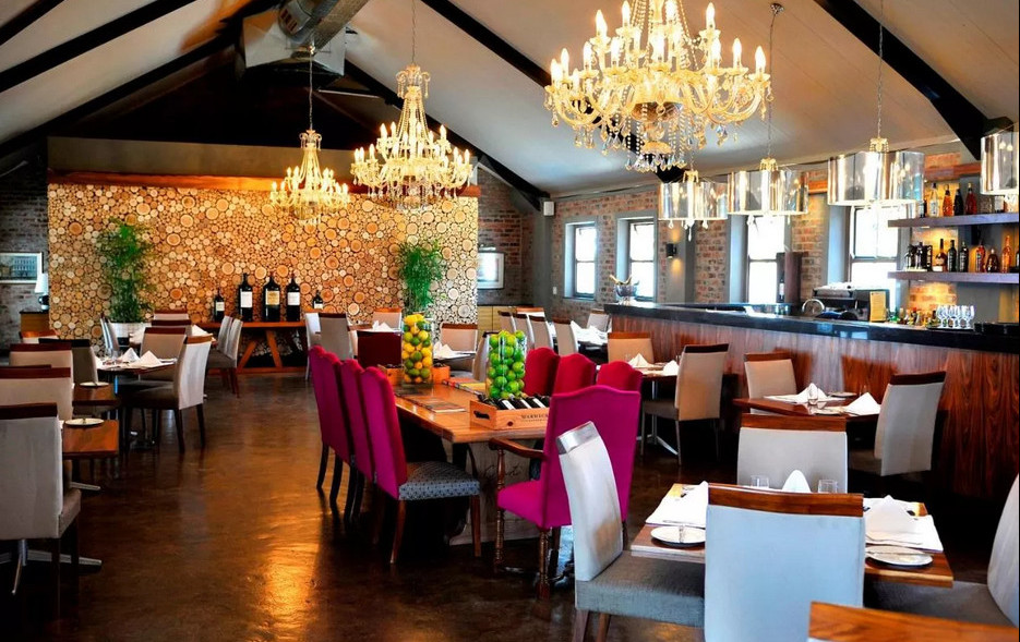 Restaurant at Holden Manz Country House