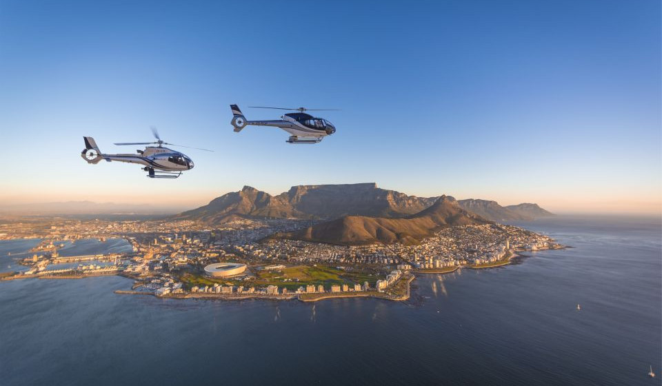 Helicopter Tour of Cape Town