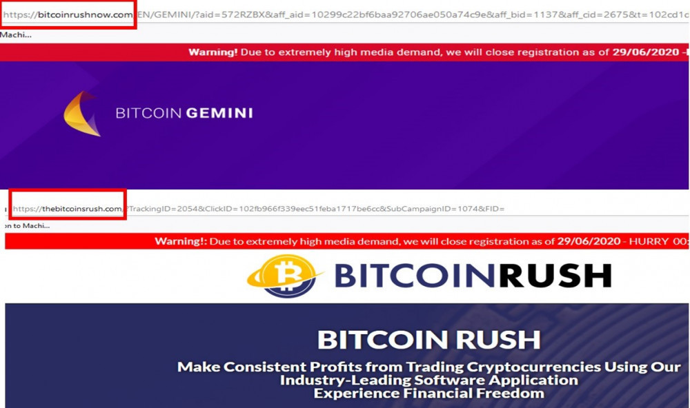 Bitcoin Gemini Recycled Scam