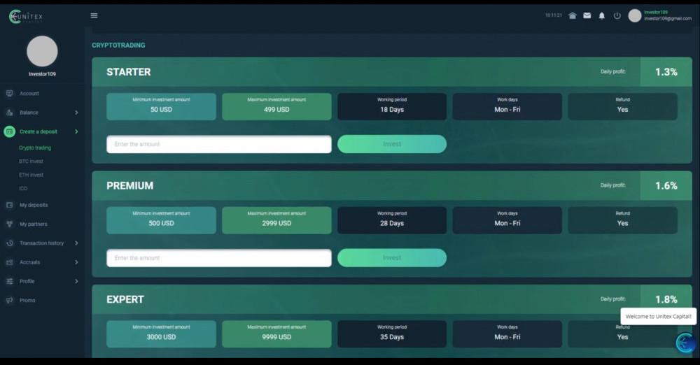 Unitex Capital Scam