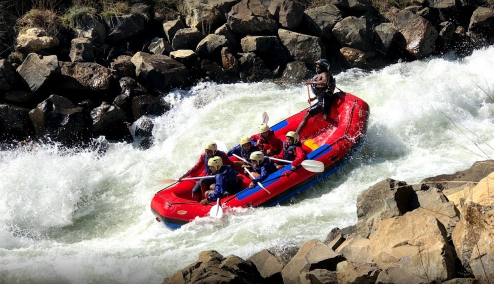 White Water Rafting With Clarens Extreme