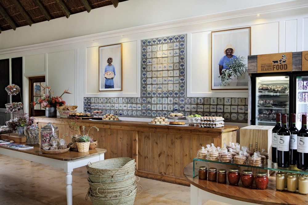 Goods at Spier Hotel