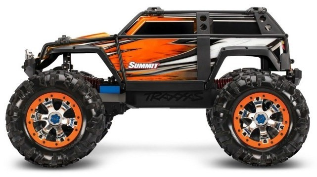 Traxxas Summit Orange