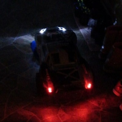 Traxxas Slash with RC LED Lights