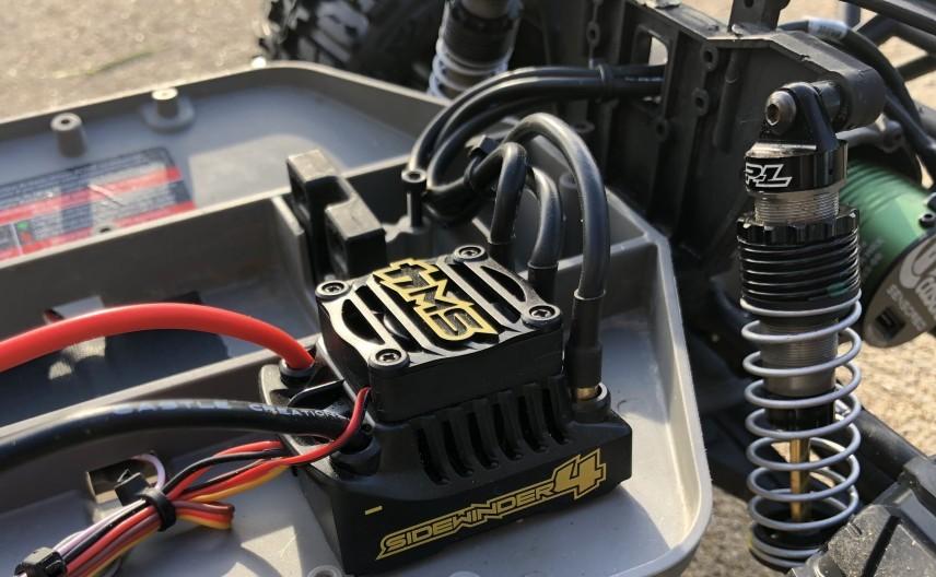 Castle motor and esc Slash 2wd