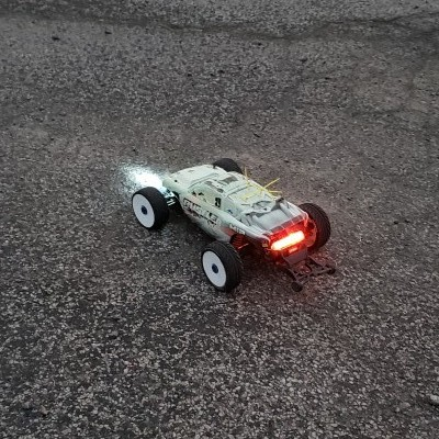 Traxxas Rustler with RC Lighting