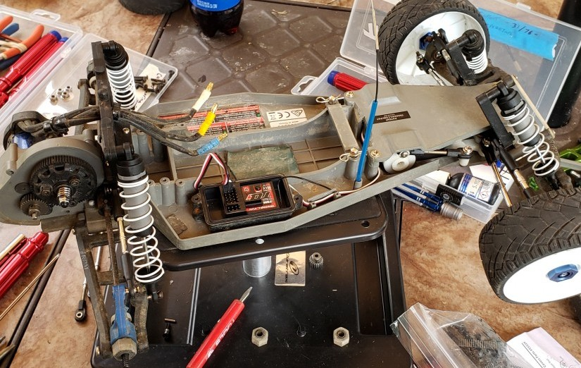 Traxxas Rustler VXL Build