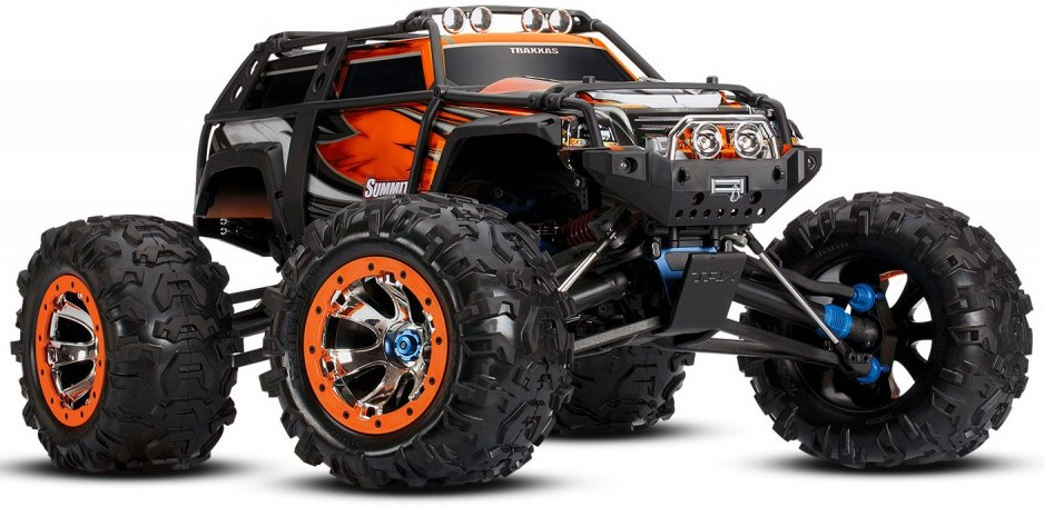 Orange Traxxas Summit