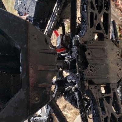 Broken chassis Tenacity MT
