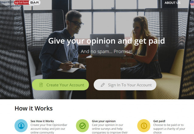 The OpinionBar Survey Panel Get Paid For Your Opinion