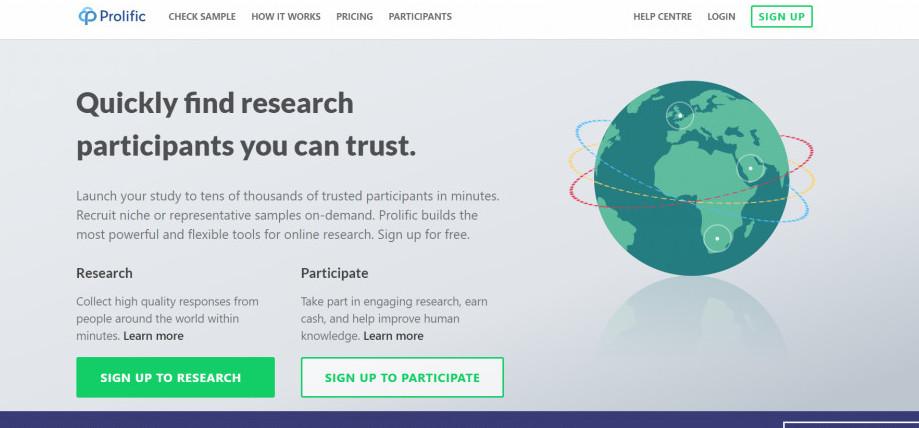 Prolific Survey Review        a Legitimate Site