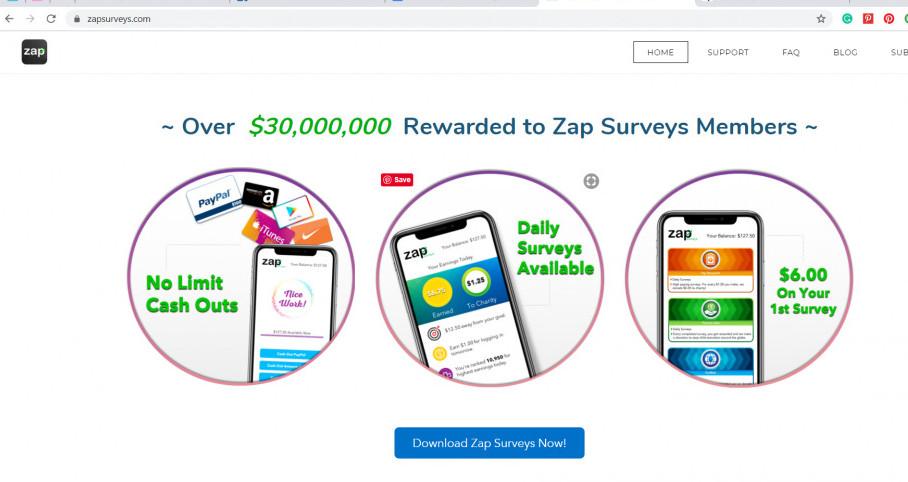 Zap App Survey Review  Does Zap Survey pay?