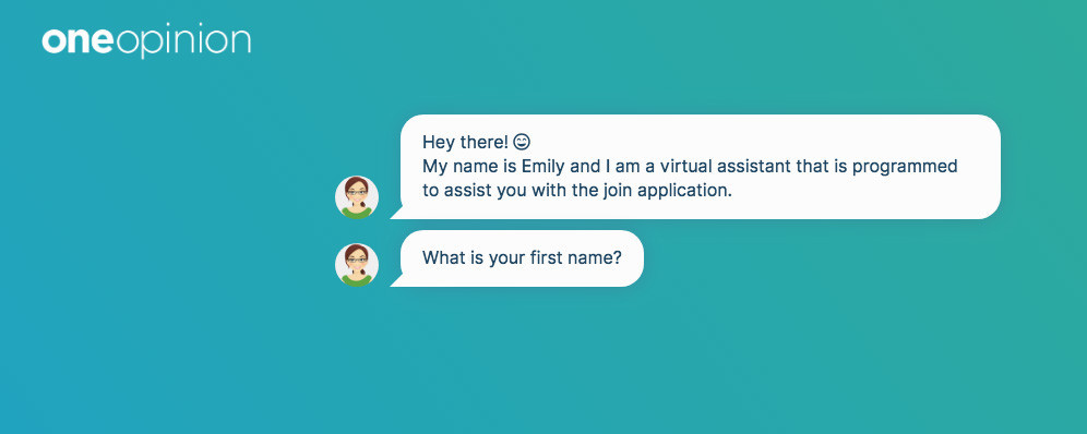 oneopinion virtual assistant