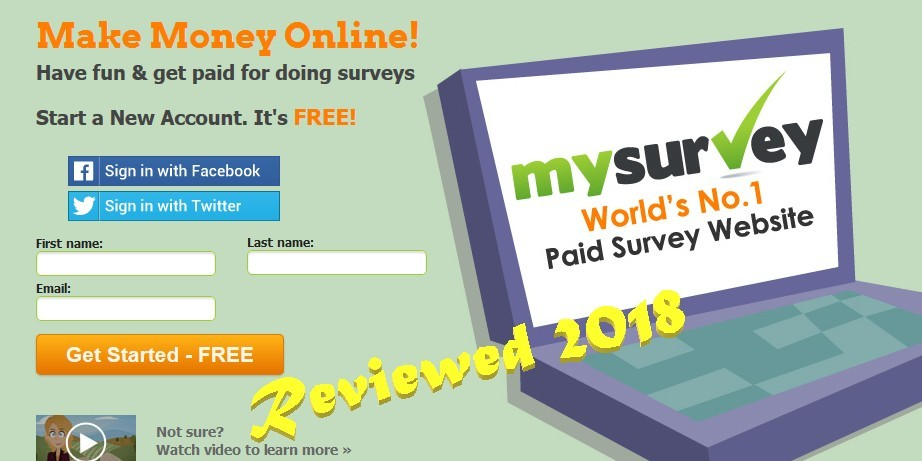 MySurvey first page image.