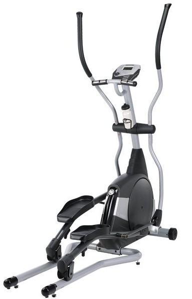 Cross trainer is great for low impact cardio