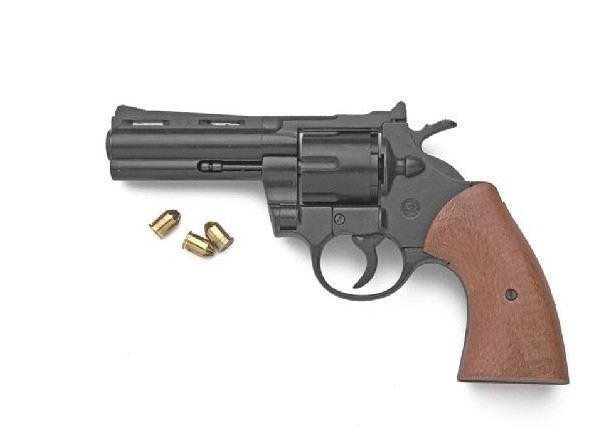 Magnum blank fire revolver