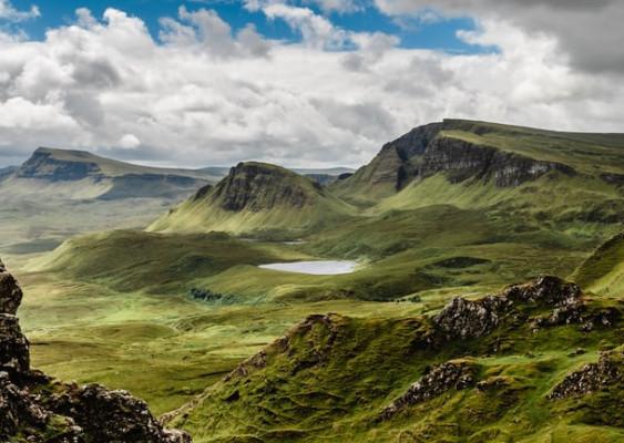 unicorn habitats scotland