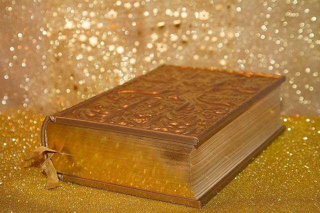 A Golden Shimmering Bible