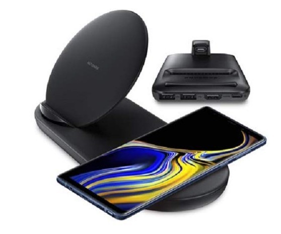 Galalaxy Note 9 wireless charging system