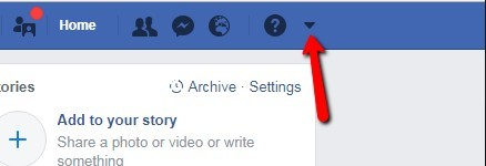 facebook legacy settings