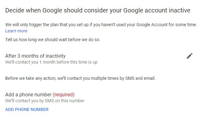 What happens to my Gmail Account when you die.
