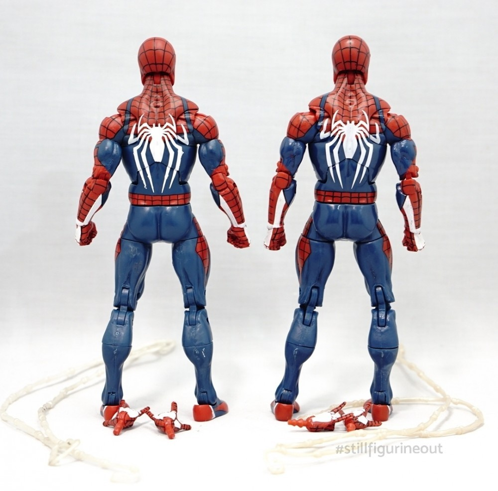 Marvel Legends - Game Stop Exclusive Gamerverse Spider-man (Authentic vs KO)