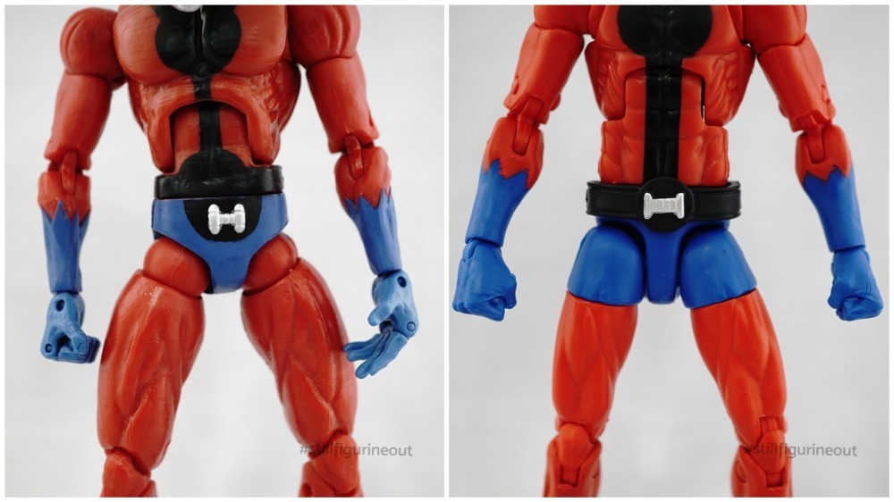 Marvel Legends - Toybiz Ant-man (Giant Man BAF Wave) vs Hasbro Ant-man (Vintage Wave 2)