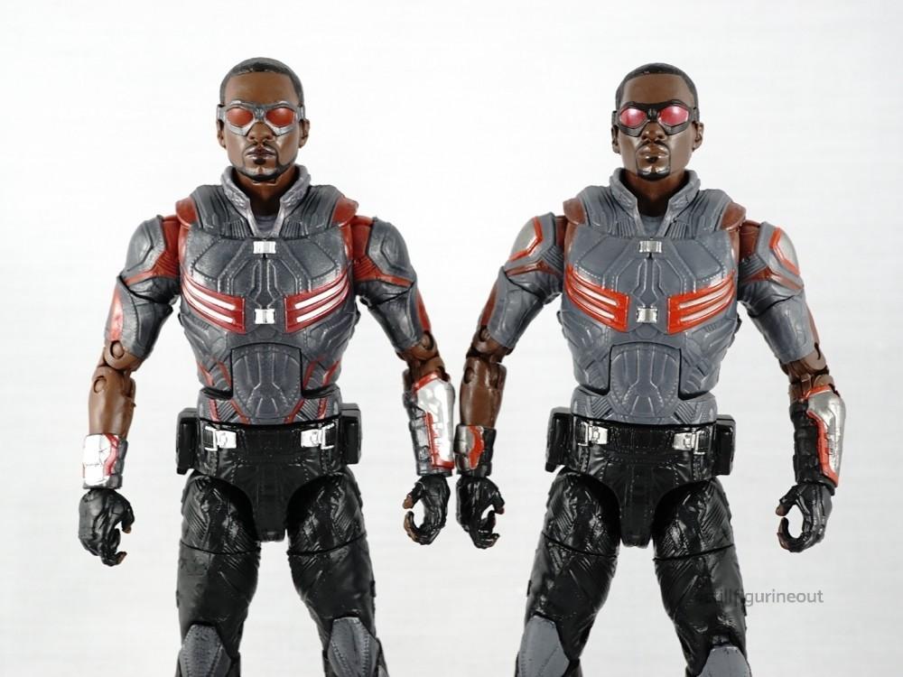 Marvel Legends - Hasbro Falcon (2-pack with Winter Soldier) vs Hasbro Falcon (Walmart Exclusive)