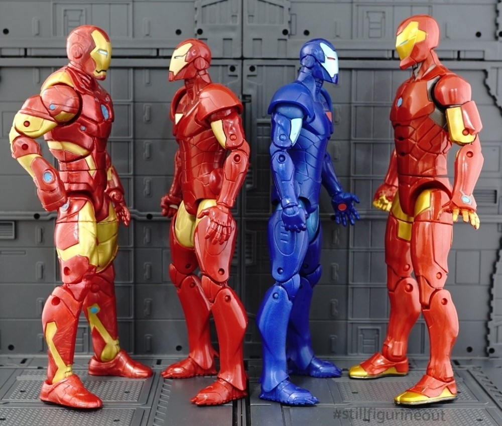 Marvel Legends - Extremis Iron Man Variants (Terrax BAF Wave)