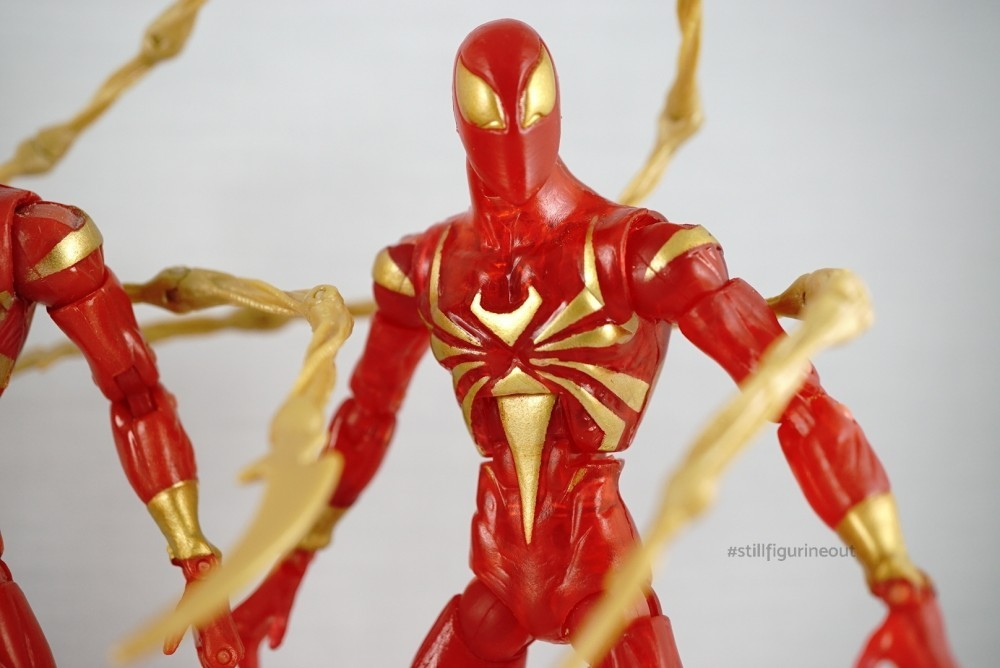 Marvel Legends - Iron Spider Variants (Metallic, Normal, Translucent)
