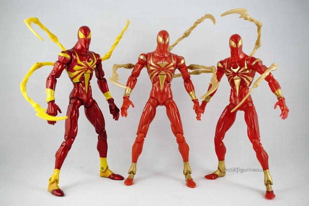Marvel Legends - Iron Spider Variants (Metallic, Normal, Translucent)