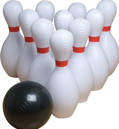 Inflatable Giant Bowling Set