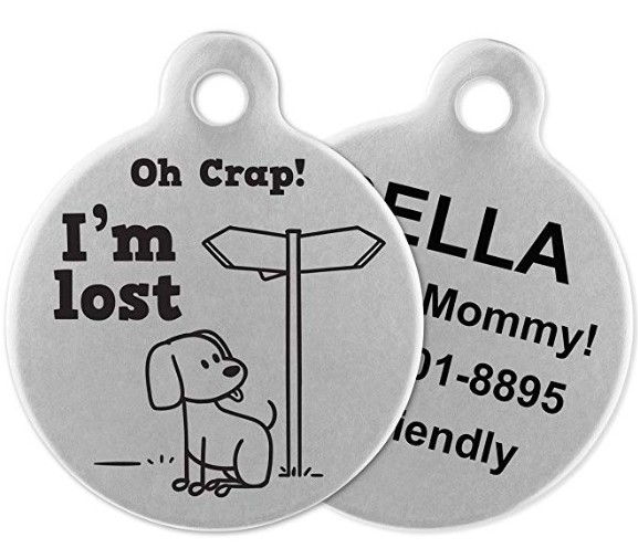 pet ID tags gift ideas for dogs