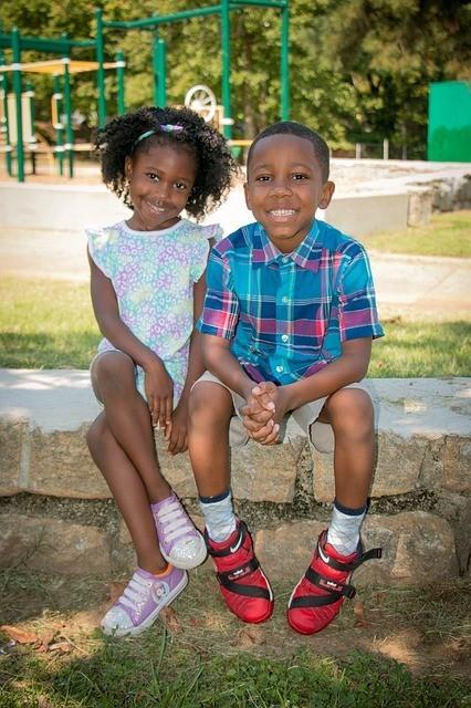 African American Christian Children