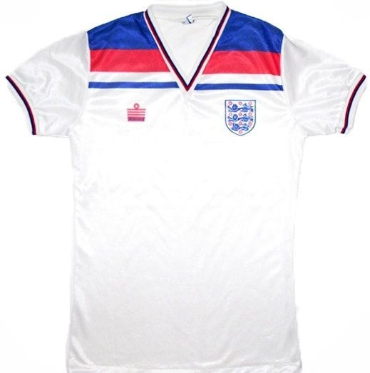 1980's retro England shirt