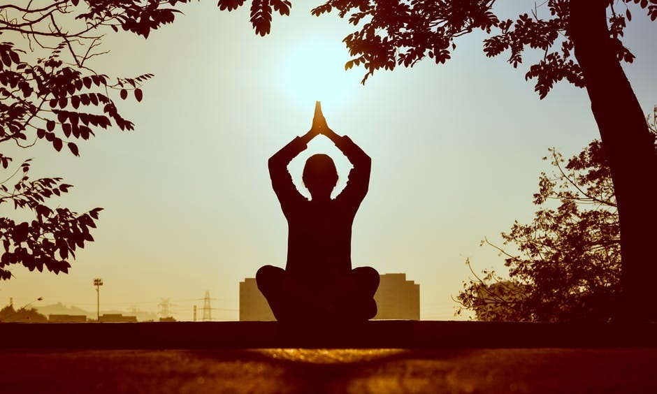 Meditation to relief stress