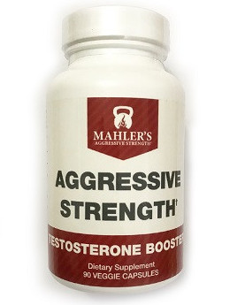 Aggressive strength testosterone booster