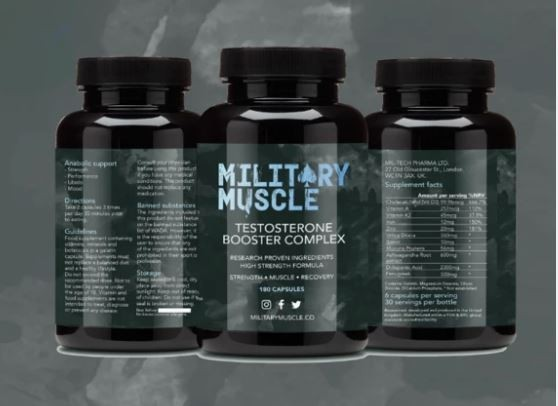 Military Muscle Bottles