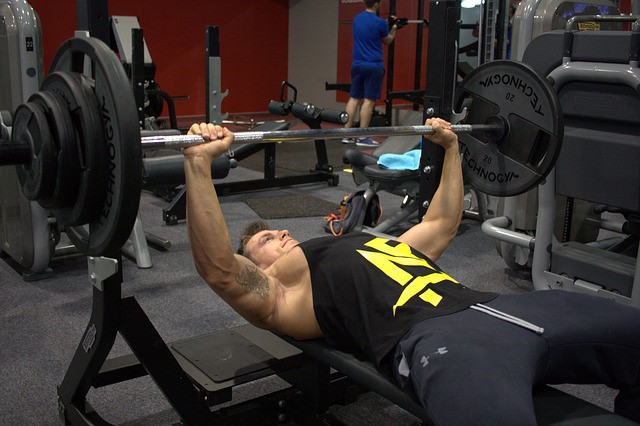 Exercises To Increase Testosterone Naturally - Bench pressing